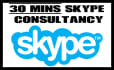 provide 30 mins Skype support or consultation regarding your project