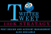 market your Twitter Profile to boost following