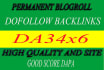 give link DA34x6 site blogroll permanent