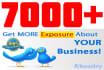 add 7000 Good Quality Twitter Followers
