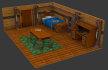 make professional 3d models for games