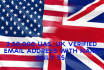 give you 2,50,000 usa,uk, verified email lists