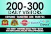 send 30,000 niche targeted website,traffic,visitors