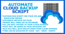 add AUTOMATED backup Script in your server