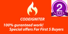 do a complete website in Codeigniter