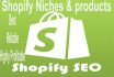 research Shopify products that is highly hot selling and highly profitable
