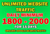 drive targeted USA social,visitors, Daily 2000,Plus