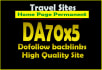 give link DA70x5 site travel blogroll permanent