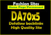 give your backlink on 5XDA70 Fashion blogroll dofollow