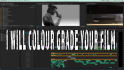 colour grade your video