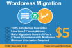 move WORDPRESS site to new web hosting or Domain