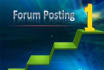 post 300 high quality forum posts