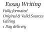 make your research essay outstanding