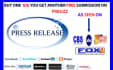 distribute 2 press release on top media sites