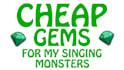 get you 200 gems in my singing monsters