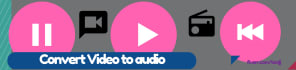 convert video file to audio