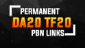 25 Powerful Permanent back Links on blog