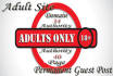 post your article to 5X DA34 Adult Site Permanent Guest post
