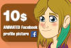 animate a facebook profile picture of you