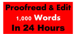 proofread and Edit ebooks,documents of any type
