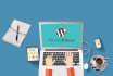 create a Complete WordPress Website within 3 Days
