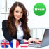 offer quality English to French transaltions and vice versa