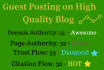 write and guest post on DA 55 blog Do Follow Link