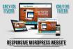 make professional wordpress website