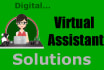 be your Reliable Virtual Assistant, wire framer and Data Entry expert