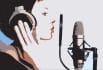 record a voice over