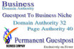 post your Article to 5X DA32 Business Permanent Guestpost