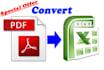 convert PDF to Excel Spreadsheet