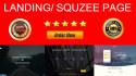 design Powerful Responsive Landing Page or Squeeze Page