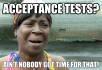 run your user acceptance test plan