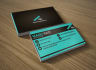 design professional and clean business card