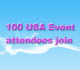 add 100 USA based Event attendees join