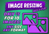 resize and Crop Your Photo or Logo