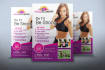 create awesome fitness flyer designs