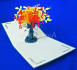 deliver my special FLOWER 3D paper card