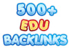 get over 500 EDU Backlinks from Edu blogs to your site with Lindexed submission