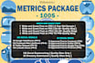 perform a Metrics package to help you get high authority backlinks