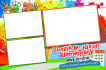 design a photo booth template