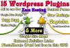 install and Configure 15 useful Wordpress Plugins