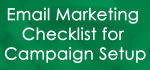setup your email campaign