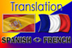 translate From To Spanish and French up to 1,000W