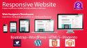 create Responsive website in 40hours