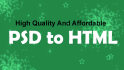 convert PSD to Responsive HTML5 template using bootstrap