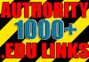 make over 1000 VERIFIED live edu links to increase seo ranking and authority