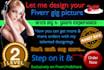 design your Fiverr gig portrait