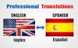 translate English to Spanish 850 words